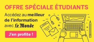 Offre spécial étudiants