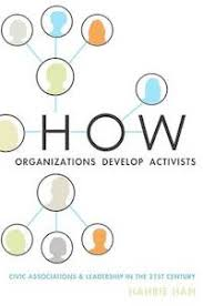 couverture du livre How organizations develop activists