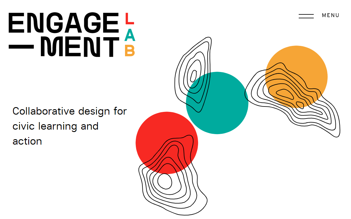 Page d'accueil d'Engagement Labs