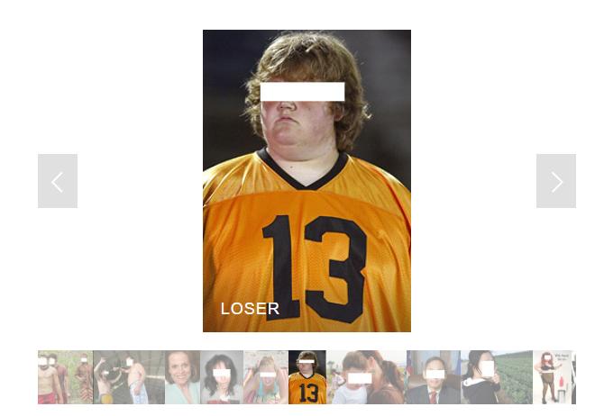 Exemple d'image étiquetée d'un loser dans ImageNet
