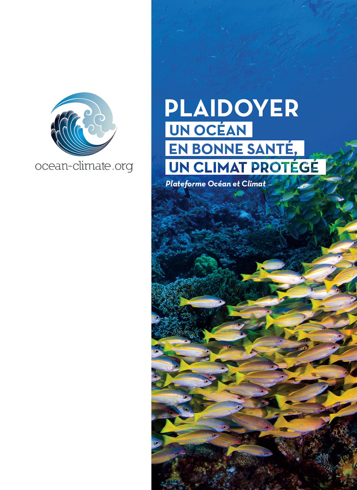Plaidoyer 2019 Plateforme Océan et Climat